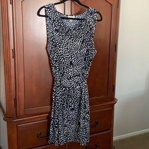 Loft drape neck dress